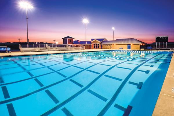 Photo of a commercial pool - Colony Pool commercial pool supplies