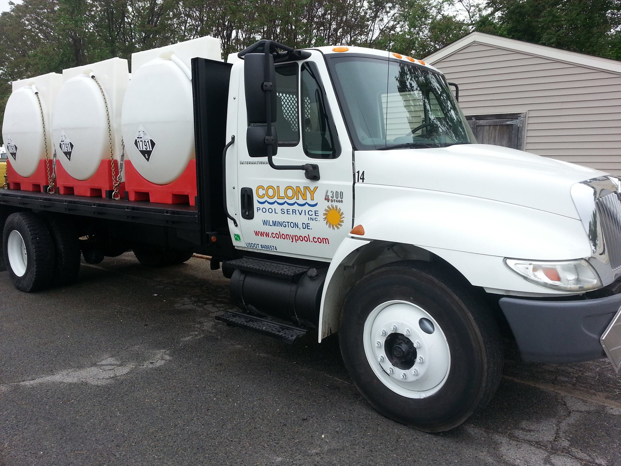 Chemical Driver with Class B and Hazmat Endorsement needed : Photo of Truck